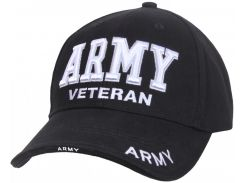 Бейсболка Rothco Deluxe Army Veteran