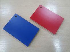 Ламинированная фанера красного и синего цвета 15х1250х2500 мм, доставка