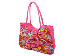 Сумка текстильная PODIUM /1323 pink