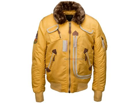 Куртка Injector Alpha Industries, жовта Львов