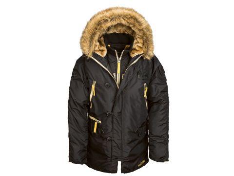 Куртка аляска N-3B Inclement Parka Alpha Industries, чорна Львов