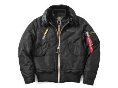 Куртка B-15 Air Frame Alpha Industries Flight Jacket, чорна