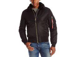 Куртка B-15 Slim Fit Alpha Industries, чорна