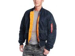 Куртка MA-1 Flight Jacket Alpha Industries, синя