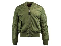 Льотна куртка MA-1 Slim Fit Alpha Industries, оливкова