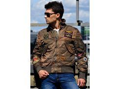 Куртка CWU Pilot X Alpha Industries, коричнева