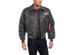 Куртка пілот CWU-45P Alpha Industries, воронений метал