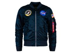 Вітровка L-2B NASA Flight Jacket Alpha Industries , синяя