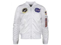 Вітровка L-2B NASA Flight Jacket Alpha Industries, біла