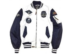 Бомбер Top Gun MA 1 Color Block Bomber Jacket, біло синій, USA