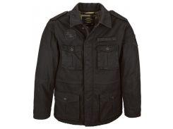 Утеплена польова куртка M-65 Altimeter Alpha Industries, чорна, USA