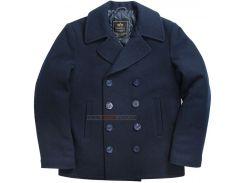 Пальто бушлат Navy Pea Coat Alpha Industries, синє