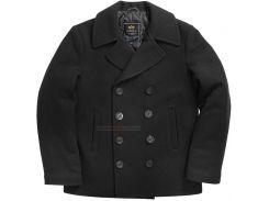 Пальто бушлат Navy Pea Coat Alpha Industries, чорне