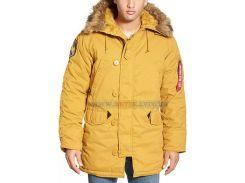 Куртка парка Altitude Parka Alpha Industries, жовта