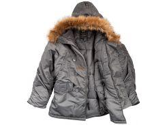 Куртка Аляска N3-B Parka Alpha Industries, воронений метал, USA