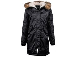 Куртка Elyse Parka Alpha Industries, чорна, USA