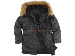 Зимова жіноча куртка Аляска Darla Alpha Industries, чорна