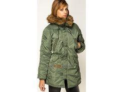 Зимова жіноча куртка аляска Darla Alpha Industries, оливкова