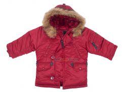 Дитяча куртка аляска Youth N-3B Parka, Commander Red