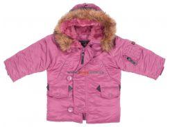 Зимова куртка для дівчинки Youth N-3B Parka, Tulip