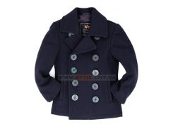 Дитяче пальто бушлат ВМФ США Boys USN Pea Coat Alpha Industries