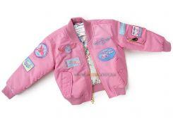 Дитяча льотна куртка Boeing Pink Nylon Flight Jacket