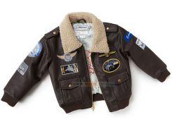 Дитяча льотна куртка Boeing Brown Aviator Jacket