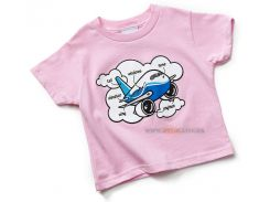 Дитяча футболка Boeing Airplane Parts Toddler, pink