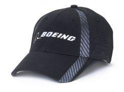 Бейсболка Boeing Carbon Fiber Print Signature Hat, чорна