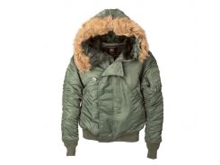 Короткая куртка аляска Alpha Industries N-2B Parka MJN30000C1 (Sage Green)