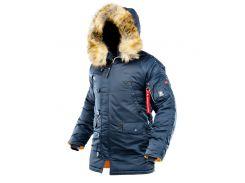 Зимняя куртка аляска Airboss Winter Parka 171000123221 (синяя)