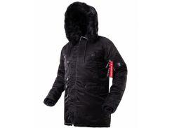 Оригинальная зимняя куртка аляска  AIRBOSS Winter Parka 171000123221 (черная)