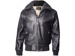 Кожаная летная куртка Offical Top Gun Military G-1 Jacket G-1 (Black)