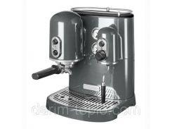 Кофемашина KitchenAid Artisan Espresso 5KES2102EMS, серебрянный медальон