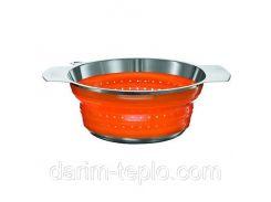 Сито диам. 20см. оранжевое Rosle R16130