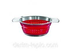 Сито диам.24см. красное Rosle R16125