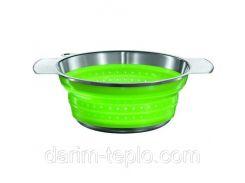 Сито диам.20см.зеленое Rosle R16122