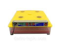 Инкубатор MS-63 с автоматическим переворотом яиц 650х270х650 мм Желтый
