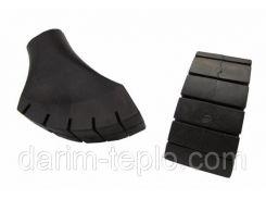 Насадка колпачок для палок «Скандинавская ходьба» грязевые Tramp TRA-202