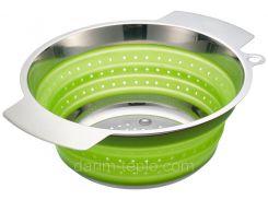 Сито диам. 24см. зеленое Rosle R16126
