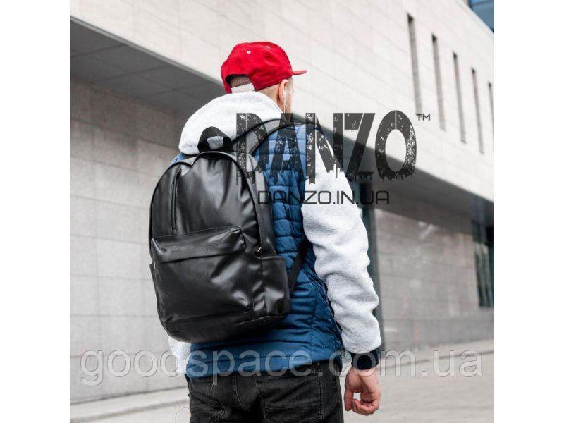 5d131f00b27d Кожаный рюкзак mod.T-bag черный купить недорого за 325 грн. на Vcene.com