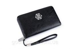 Кожаный мужской портмоне клатч PHILIPP PLEIN BIG