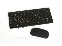 Русская беспроводная мини клавиатура + мышка