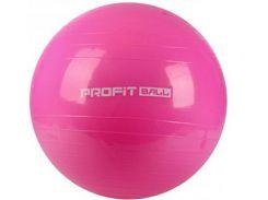 Мяч для фитнеса Фитбол Profit 65 см усиленный 0276 Pink