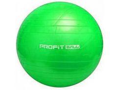 Мяч для фитнеса Фитбол Profit 65 см усиленный 0382 Green