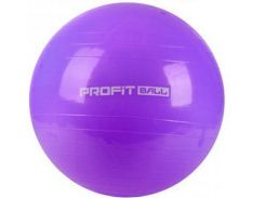 Мяч для фитнеса Фитбол Profit 65 см усиленный 0382 Violet