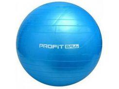 Мяч для фитнеса Фитбол Profit 75 см усиленный 0383 Blue