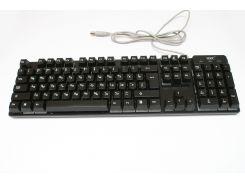 Клавиатура с цветной подсветкой USB KR-6300