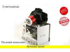 Фонарь налобный Bailong BL 6902 фонарик + UF диод