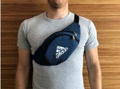 Мужская поясная сумка Adidas Синий